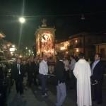 La processione.