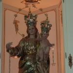 Particolare sulla Madonna della Libertà.