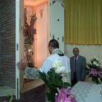 L'apertura della cappella.