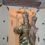 Il simulacro della Madonna della Libertà