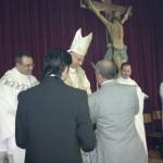 La consegna dell'icona della nostra Madonna.